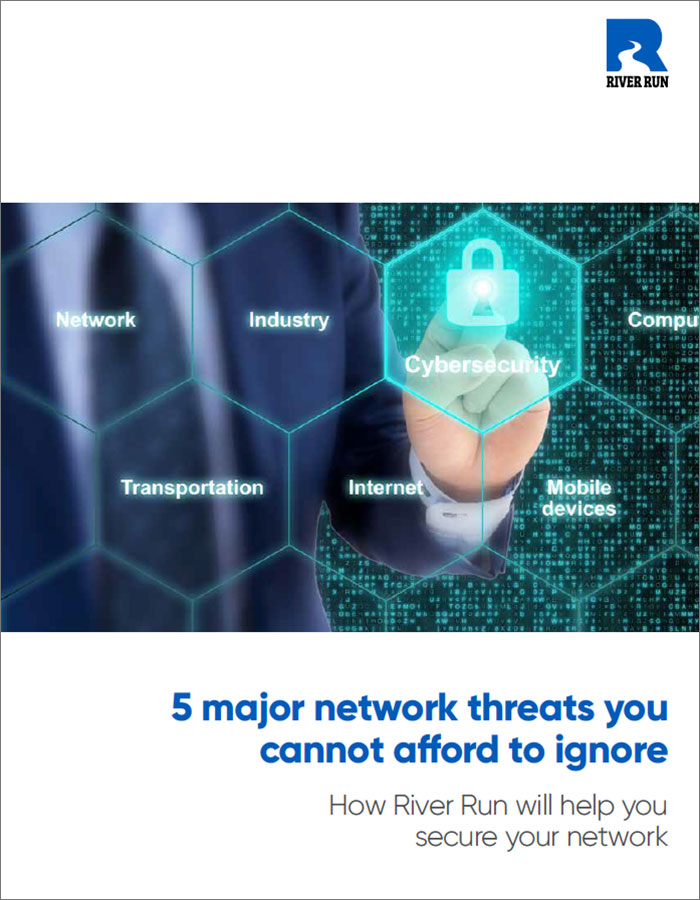 5 major network security threats whitepaper